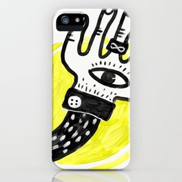 The Lucky Hand iPhone Case