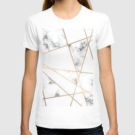 Marble Geometry 054 T-shirt