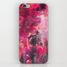 Pour Ultraviolet Pink iPhone & iPod Skin