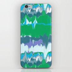 Marbled in jewel iPhone & iPod Skin