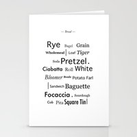 bread Stationery Cards featuring Bread by PintoQuiff