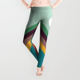 Rows of valleys Leggings