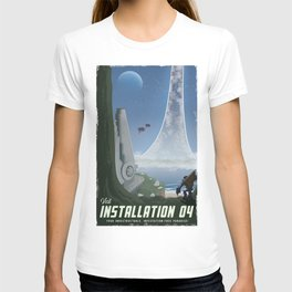 Installation 04 (Halo) Travel Poster T-shirt