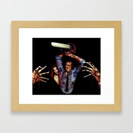killer klowns from outer space  Framed Art Print