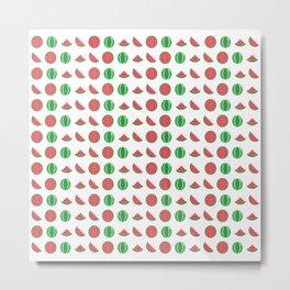 water water melon melon Metal Print