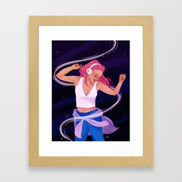 Late Night Jams Framed Art Print