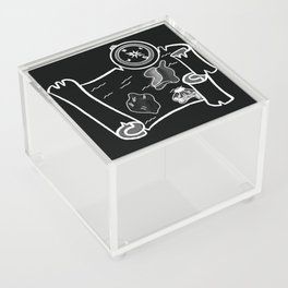 Where the Memory Lies Acrylic Box