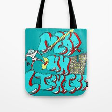 Nerds Are Heroes Tote Bag
