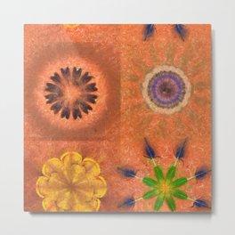 Evolving Truth Flowers  ID:16165-093100-83380 Metal Print