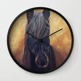 Friesian Spirit Wall Clock