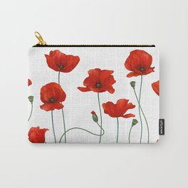 Poppy Stems Carry-All Pouch