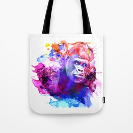Gorillas are some of the most powerful and striking animals Tote Bag