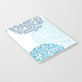 Denim Discoid Notebook