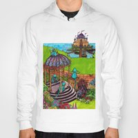 monkey island Hoodies featuring Monkey Island by Charlie L'amour