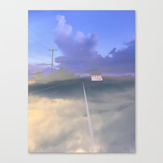 Clouded Mind Canvas Print
