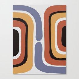 Reverse Shapes II Canvas Print