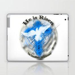 Jesus Christ - He is Risen. Laptop & iPad Skin