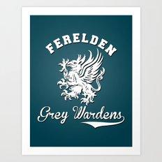Dragon Age - Ferelden Grey Wardens Art Print
