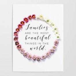Beautiful Families Poster