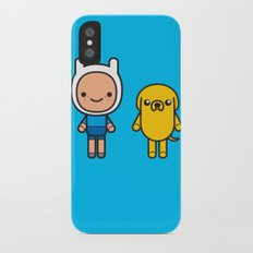 #48 Jake and Finn Slim Case iPhone X