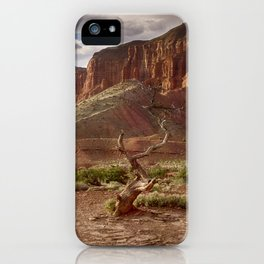 Mountains at Capitol Reef National Park - Utah iPhone Case