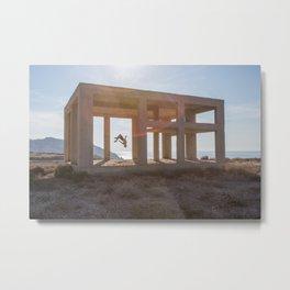 Freerun Santorini  Metal Print