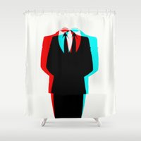 anonymous Shower Curtains featuring Anonymous.1 by Laure.B