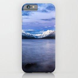 Wallpaper USA Glacier Montana Nature Mountains Lak iPhone Case