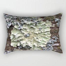 Nature's Fence Flowers Rectangular Pillow