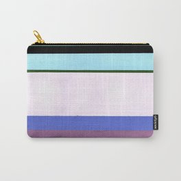 Stripes - Inspired by Light of Iris by Georgia O'Keeffe Carry-All Pouch