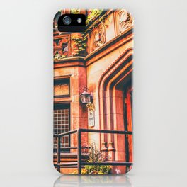 New York City Autumn Pumpkin iPhone Case