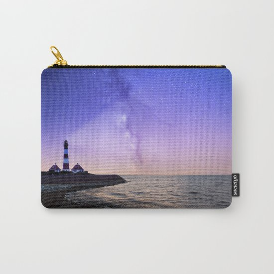 Lighthouse under the stars #photography Carry-All Pouch