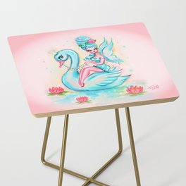 Blue Swan Fairy Side Table