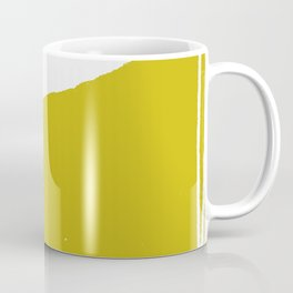 simple rusty F Coffee Mug