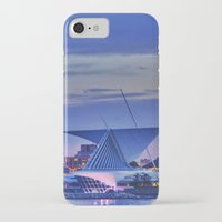 milwaukee iPhone & iPod Cases featuring Milwaukee Art Museum by Alaina Abplanalp