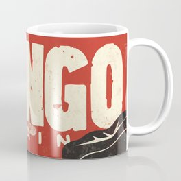 Django Unchained, Quentin Tarantino, alternative movie poster, Leonardo DiCaprio, Jamie Foxx Coffee Mug