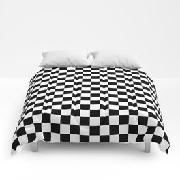 Checkered Comforters Society6