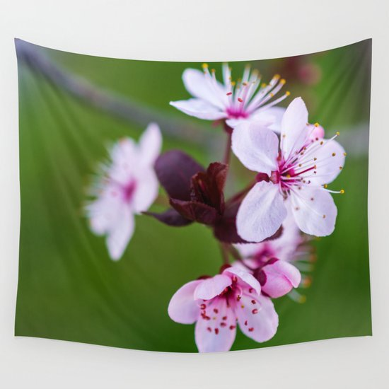 Cherry Blossom. Wall Tapestry