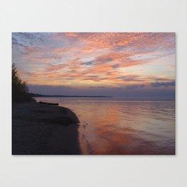 Serenity sunset Canvas Print