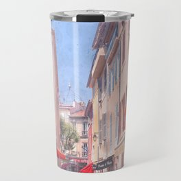 Taking The Back Alley Travel Mug