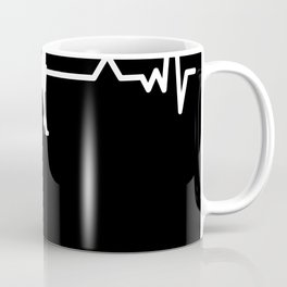 Bussinesswoman Heartbeat Funny Gift Coffee Mug