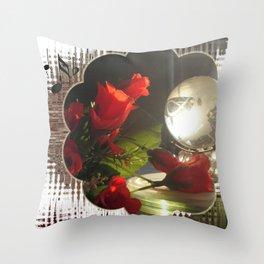 Crystal Earth Light Throw Pillow