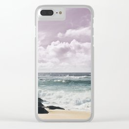 Rejoice Clear iPhone Case