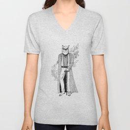 The Owl: Athena Unisex V-Neck
