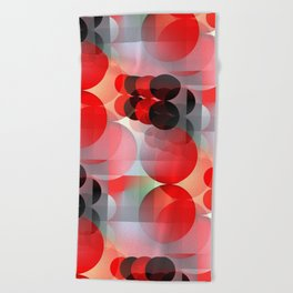 time for abstraction -4- Beach Towel