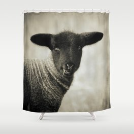 YOUNG LAMB - OLD FRIENDS COLLECTION Shower Curtain