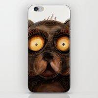 teddy bear iPhone & iPod Skins featuring Teddy Bear by Riccardo Pertici