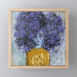 California Lilac Framed Mini Art Print