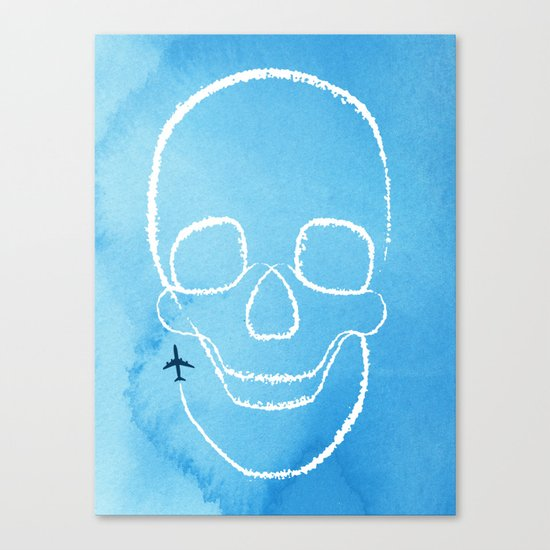 Rough Flight Canvas Print