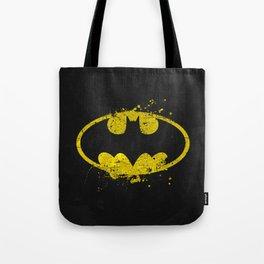 Bat man's Splash Tote Bag